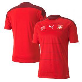 Switzerland Home Shirt 2019-21