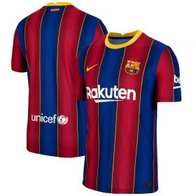 Barcelona Home Vapor Match Shirt 2020-21