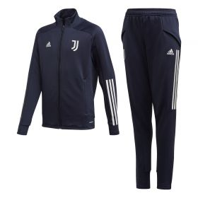 Juventus Training Tracksuit - Navy - Kids