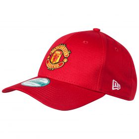 Manchester United New Era Basic 9FORTY Adjustable Cap - Red - Adult