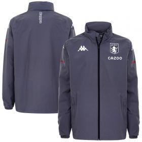 Aston Villa Training Rain Jacket - Grey