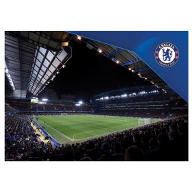 Chelsea Stamford Bridge Stadium Poster