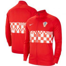 Croatia l96 Anthem Track Jacket - Red