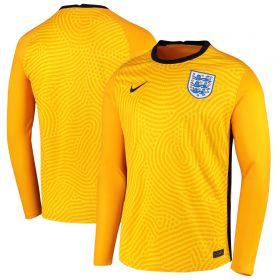 England Goalkeeper Stadium Shirt 2020-21 - Long Sleeve