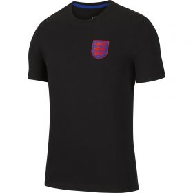 England Travel T-Shirt - Black