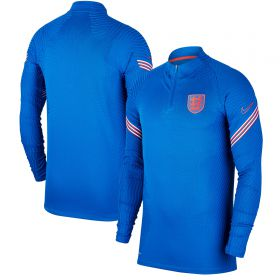 England Vaporknit Strike Drill Top - Royal Blue