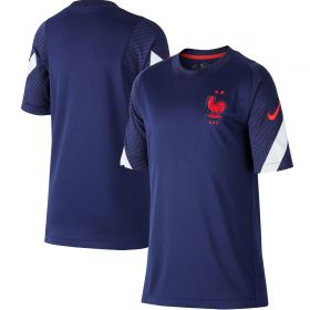 France Breathe Strike Top - Navy - Kids