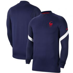 France Dri-Fit Strike Drill Top - Navy