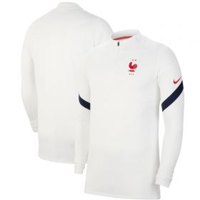 France Dri-Fit Strike Drill Top - White
