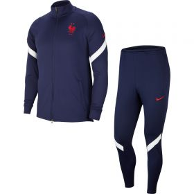 France Dri-Fit Track Suit - Navy