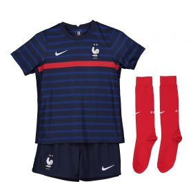 France Home Stadium Kit 2020-21 - Little Kids
