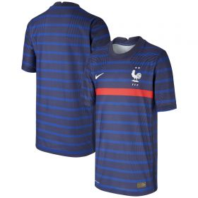 France Home Vapor Match Shirt 2020-21 - Kids