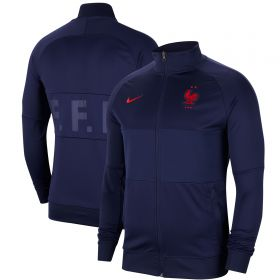 France l96 Anthem Track Jacket - Navy