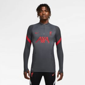 Liverpool Vapor Knit Strike Drill Top - Dark Grey