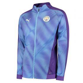 Manchester City Stadium Jacket - Purple