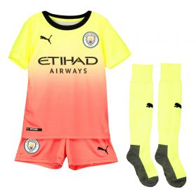 Manchester City Third Mini Kit 2019-20 with G.Jesus 9 printing