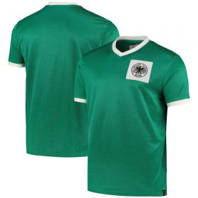 DFB True Classics 1970 Retro Away Shirt - Green - Mens