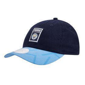 Manchester City Archive DNA Cap - Blue