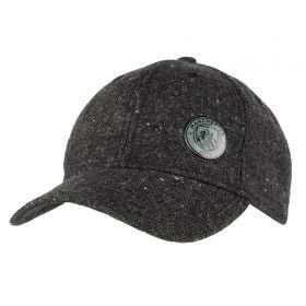 Manchester City Grey Marl Cap - Adult