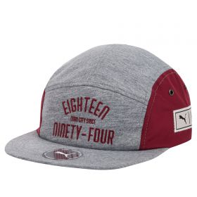 Manchester City Urban 5 Panel Cap - Grey