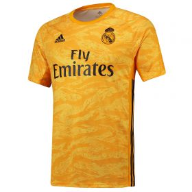 Real Madrid Home GK Shirt 2019 - 20 with Areola 1 printing