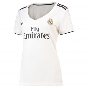 Real Madrid Home Shirt 2018-19 - Womens with Brahim 21 printing