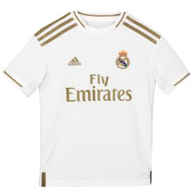 Real Madrid Home Shirt 2019-20 - Kids with James 16 printing