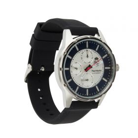 Real Madrid Multifunction Leather Strap Watch - Junior