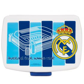 Real Madrid Plastic Lunch Box