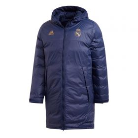 Real Madrid Seasonal Long Coat - Navy