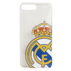 Real Madrid TPU iPhone 7 Plus Cover - Clear-Colour