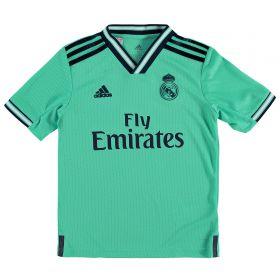 Real Madrid Third Shirt 2019 - 20 - Kids with James 16 printing