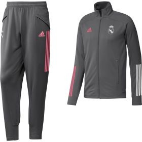 Real Madrid Training Tracksuit - Grey