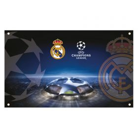 Real Madrid UEFA Champions League Flag
