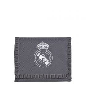 Real Madrid Wallet - Grey