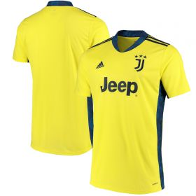 Juventus Home Goalkeeper Shirt 2020-21 - Kids
