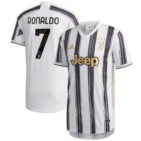 Juventus Authentic Home Shirt 2020-21 with Ronaldo 7 printing