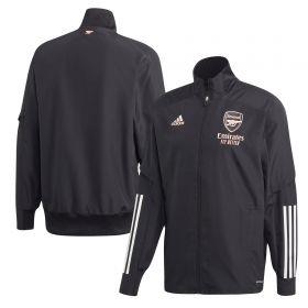 Arsenal Cup Training Presentation Jacket - Black