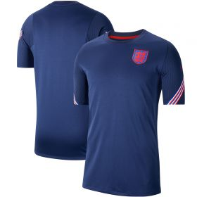 England Breathe Strike Top - Navy