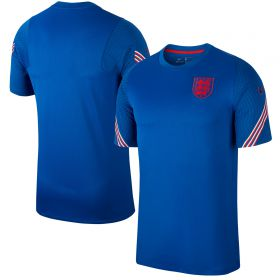 England Breathe Strike Top - Royal Blue