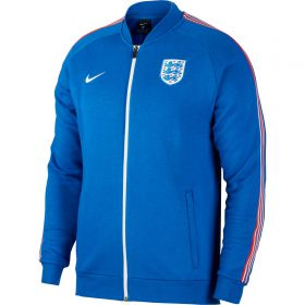 England Track Jacket - Royal Blue