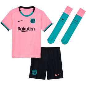 Barcelona Third Stadium Kit 2020-21- Little Kids