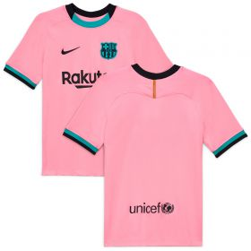 Barcelona Third Stadium Shirt 2020-21 - Kids