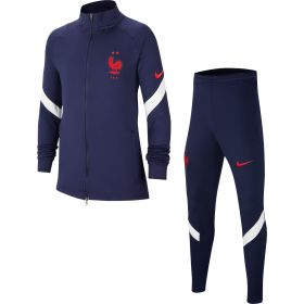 France Dri-Fit Strike Track Suit - Navy - Kids
