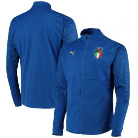 Italy Stadium Home Jacket - Blue