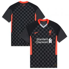 Liverpool Third Vapor Match Shirt 2020-21