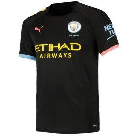 Manchester City Away Shirt 2019-20 with Silva 21 printing