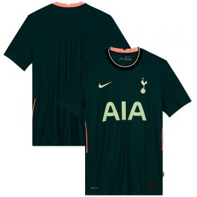 Tottenham Hotspur Away Vapor Match Shirt 2020-21