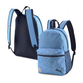 Manchester City FtblCore Backpack - Sky Blue