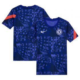 Chelsea Dri-Fit Training Top - Blue - Kids